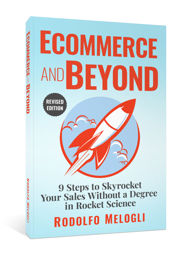 Ecommerce and Beyond Book Cover 3D